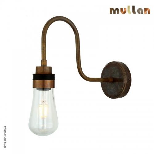 Bo Swan Neck Wall Light IP65 by Mullan Lighting