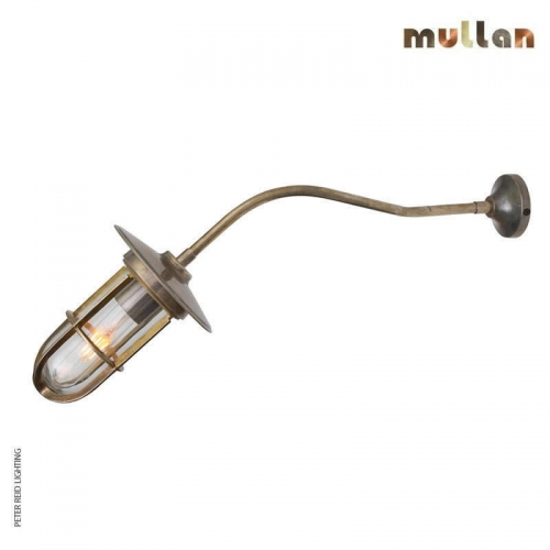 Brom Well Glass Wall Light IP65 by Mullan Lighting