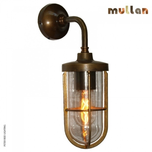 Carac Well Glass Wall Light IP65 by Mullan Lighting
