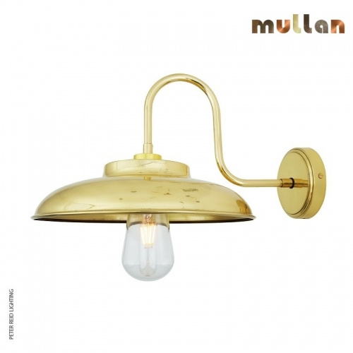 Darya Swan Neck Wall Light IP65 by Mullan Lighting