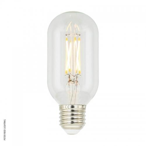 Mullan E27 4 Watt Dimmable LED Tube Filament Bulb