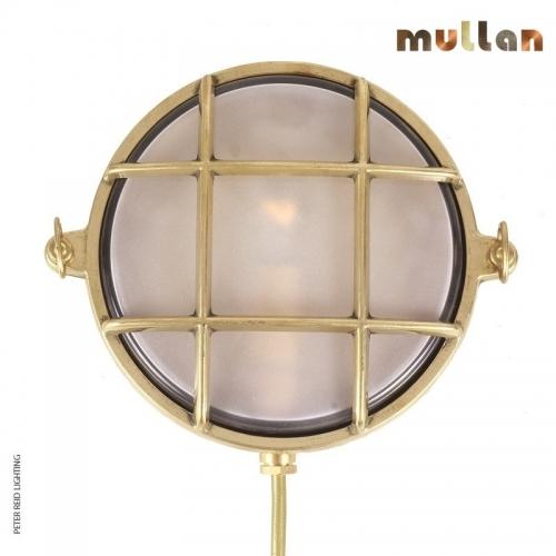 Ergo Marine Round Small Bulkhead Light IP54 by Mullan Lighting