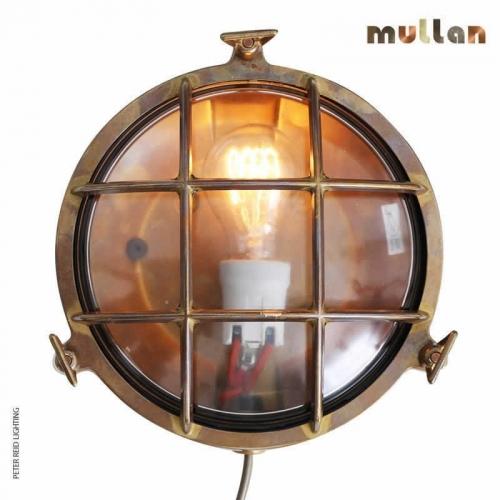 Evander Marine Bulkhead Wall Light IP54 by Mullan Lighting
