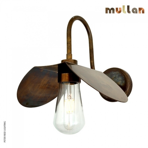 Hali Swan Neck Wall Light IP65 by Mullan Lighting