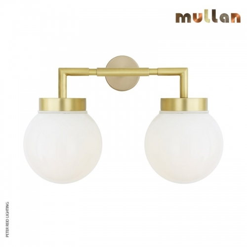 Jordan Double Wall Light IP65 by Mullan Lighting