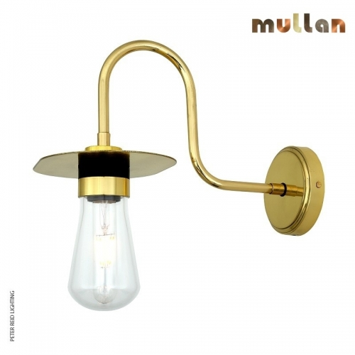 Kai Swan Neck Wall Light IP65 by Mullan Lighting