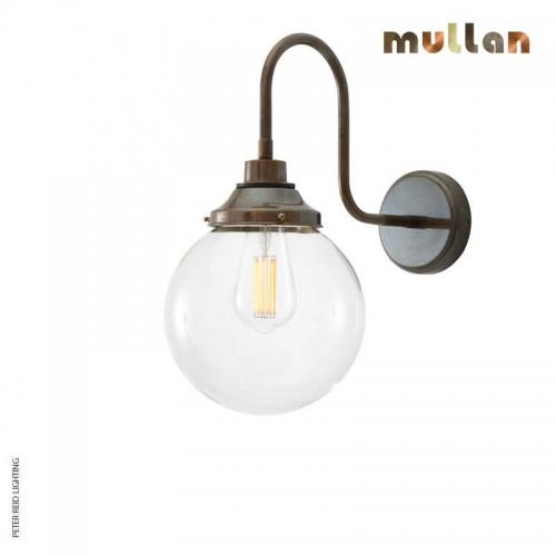 Laguna Swan Neck Wall Light 20cm IP44 by Mullan Lighting