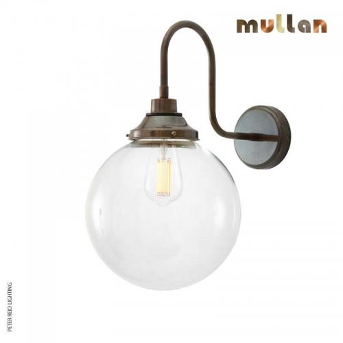 Laguna Swan Neck Wall Light 25cm IP44 by Mullan Lighting