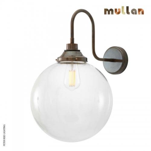 Laguna Swan Neck Wall Light 30cm IP44 by Mullan Lighting