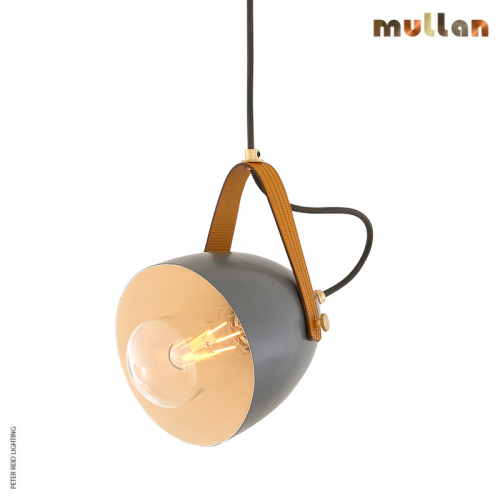 Lambeth Pendant With Rescued Fire-Hose Strap IP65 By Mullan Lighting