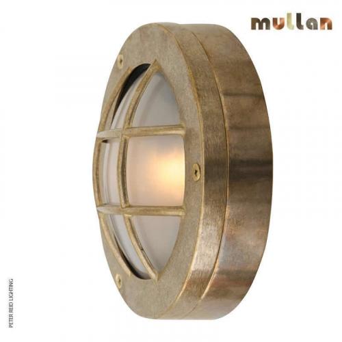 Muara Flush Wall Light 14cm IP64 by Mullan Lighting