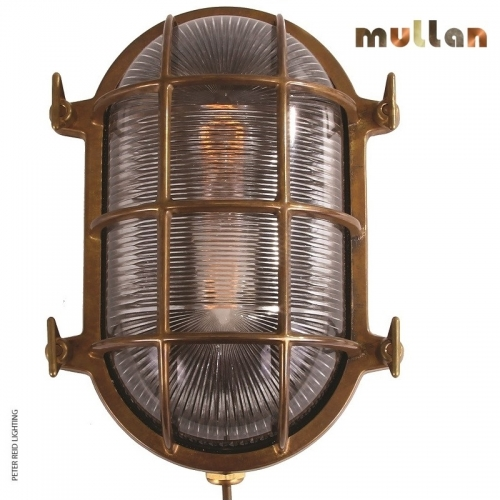 Ross Marine Nautical Bulkhead Light IP54 by Mullan Lighting