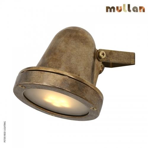 Thames Brass Outdoor Spot Light GU10 IP64 by Mullan Lighting