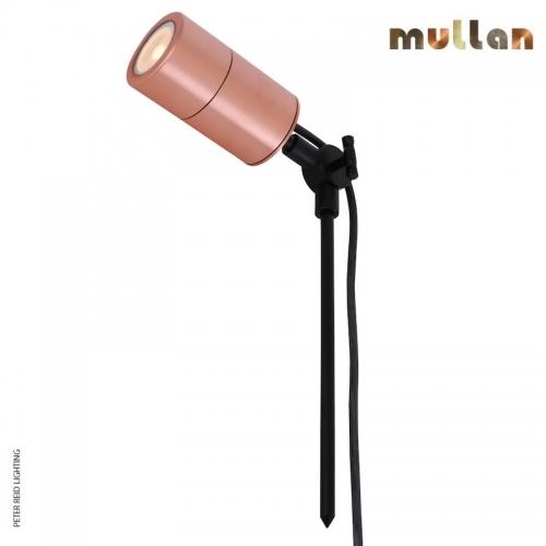 Vanora Copper Outdoor Spike Spot Light GU10 IP65 by Mullan Lighting