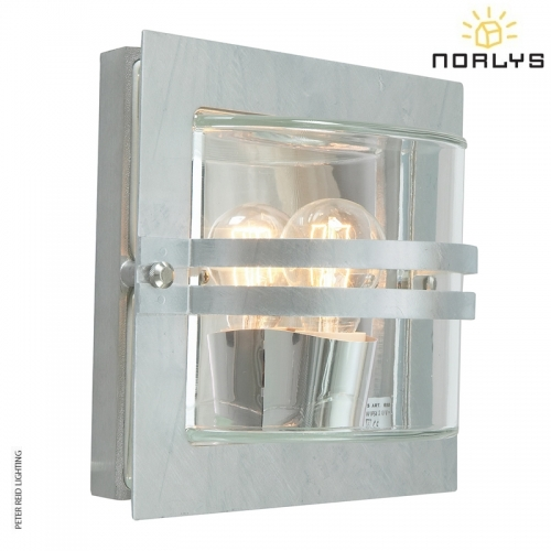 Bern Galvanized Clear Glass by Norlys