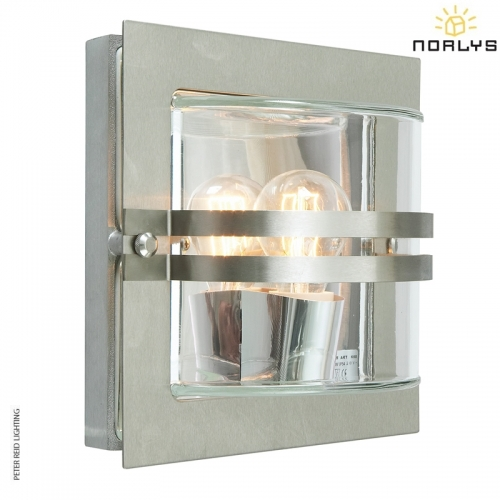 Bern Stainless Steel Clear Glass by Norlys