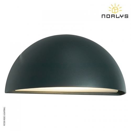 Halden Graphite Wall Down Light by Norlys