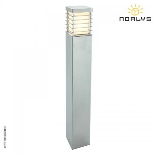 Halmstad Large Bollard Galvanized by Norlys