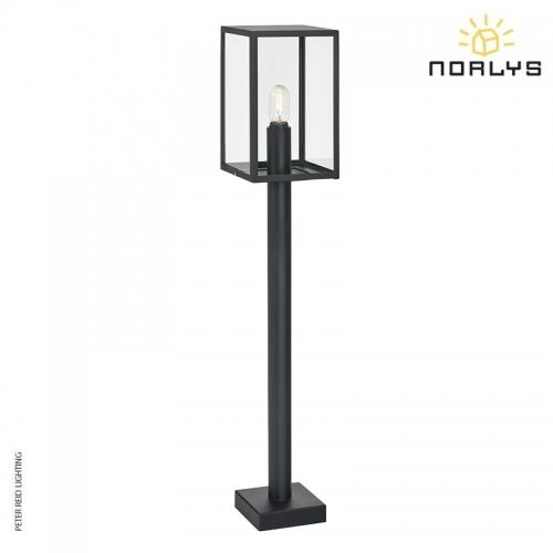 Lofoten 4 Black Pillar Light by Norlys