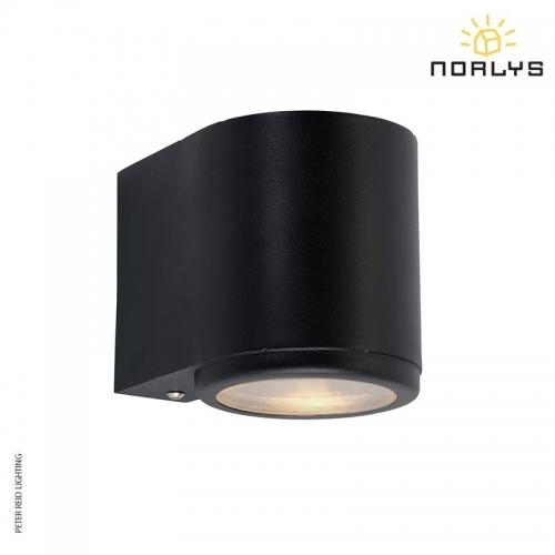 Mandal Wall Down Light Black by Norlys