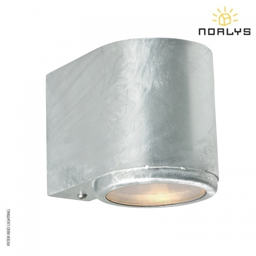 Mandal Wall Down Light Galvanized by Norlys