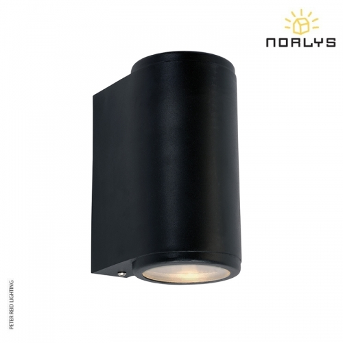 Mandal Up/Down Wall Light Black by Norlys