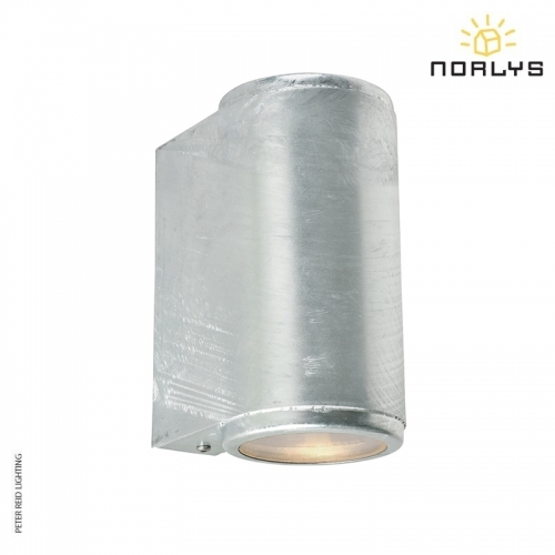 Mandal Up/Down Wall Light Galvanized by Norlys