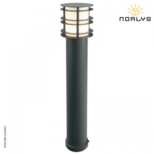 Stockholm Bollard Large Black by Norlys