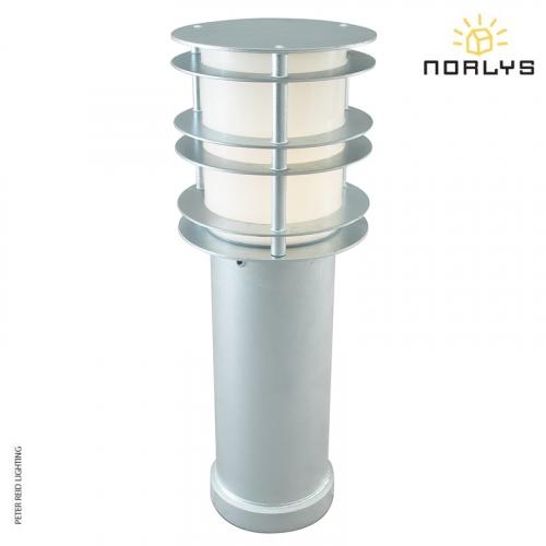Stockholm Bollard Medium Galvanized by Norlys