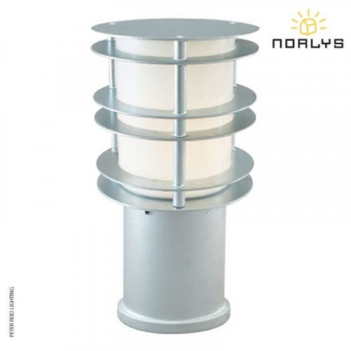 Stockholm Bollard Small Galvanized by Norlys