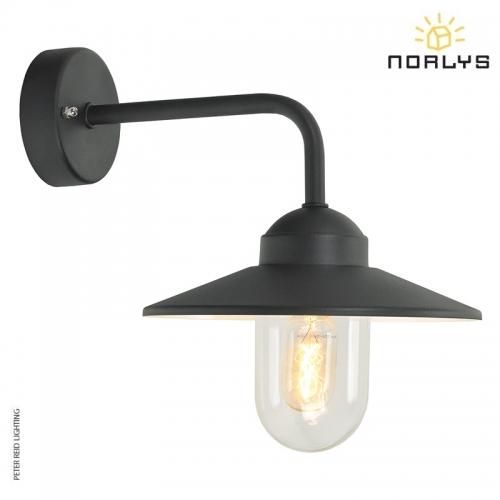 Vansbro Black Wall Light by Norlys