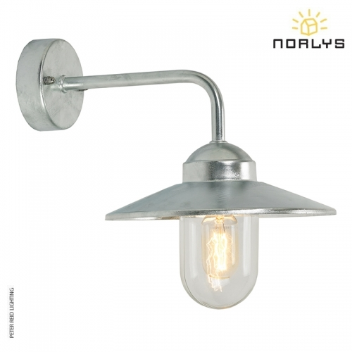 Vansbro Galvanized Wall Light by Norlys