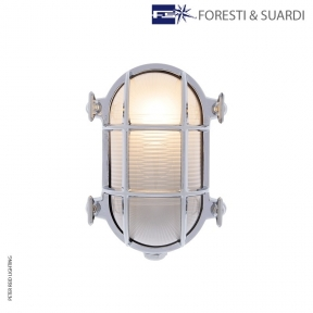 Oval Bulkhead Light 2036 Small E27 by Foresti & Suardi