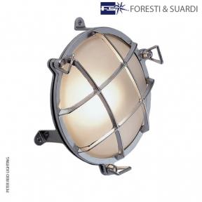 Circular Bulkhead Light With Legs 2029 Large by Foresti & Suardi