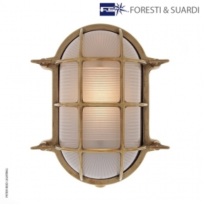 Oval Bulkhead Light 2034 Extra Large by Foresti & Suardi