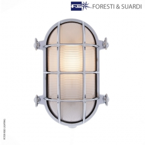 Oval Bulkhead Light 2035 Large by Foresti & Suardi
