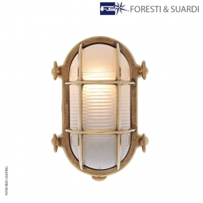 Oval Bulkhead Light 2035B Medium by Foresti & Suardi