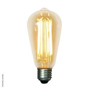 Mullan E27 4 Watt Teardrop Dimmable LED Filament Bulb