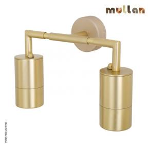 Ennis Brass Double Wall Down Light IP65 by Mullan Lighting