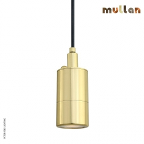 Ennis Brass Pendant Spot Light IP65 by Mullan Lighting
