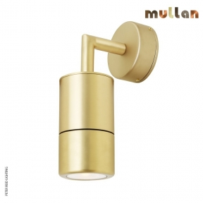 Ennis Brass Wall Down Light IP65 by Mullan Lighting