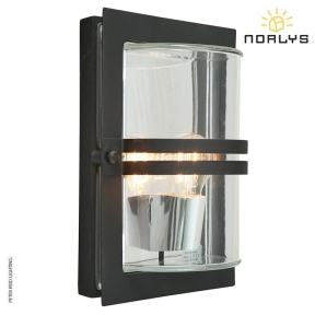 Basel Black Clear Glass by Norlys