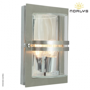 Basel Stainless Steel Clear Glass by Norlys