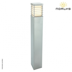 Halmstad Large Bollard Galvanized by Norlys