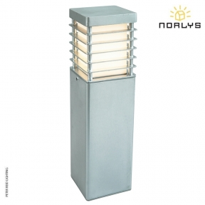 Halmstad Medium Bollard Galvanized by Norlys