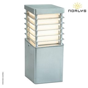 Halmstad Small Bollard Galvanized by Norlys
