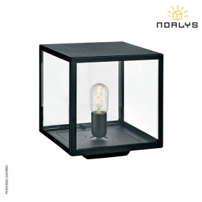 Lofoten 3 Black Pedestal Light by Norlys