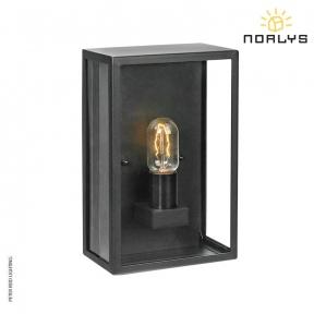 Lofoten 7 Black Half Wall Light by Norlys