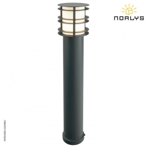 Stockholm Bollard Large Black by Norlys