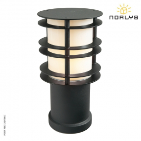 Stockholm Bollard Small Black by Norlys